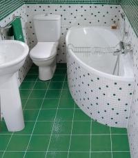 Ремонт небольшой ванной комнаты 1